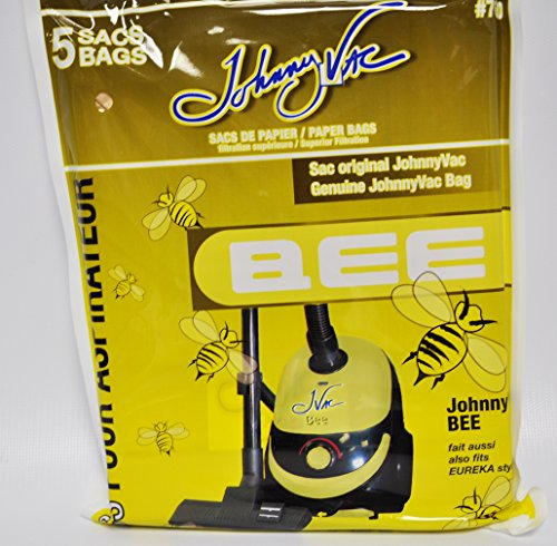 Johnny Vac Bee Canister Vacuum Cleaner Bags Model 700