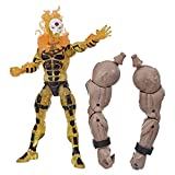 Hasbro Marvel Legends Series 6-inch Collectible Sunfire Action Figure Toy X-Men: Age of Apocalypse Collection