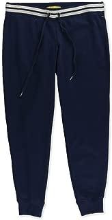 Aeropostale Womens Striped Fleece Casual Jogger Pants