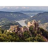 Uoaei Aggstein Castle Ruins Wachau Austria Landscape Photo Unframed Wall Art Print Poster Home Decor Premium Castello Paesaggio Fotografia Parete Manifesto Casa