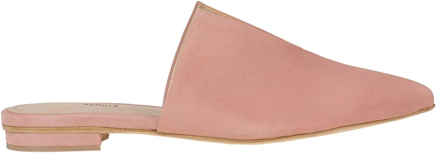 Schutz Women's MCGLCAB000005029E Pink Leather Loafers