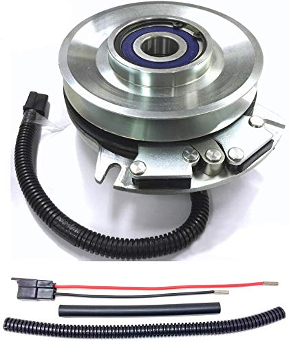 Xtreme Outdoor Power Equipment Bundle - 2 Items: PTO Electric Blade Clutch, Wire Harness Repair Kit. X0222 Replaces Hustler 601311K Fatboy PTO Clutch - w/Harness Repair Kit - OEM Upgrade!