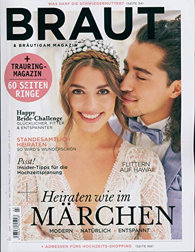 Braut & Bräutigam Magazin 03/2020