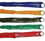 ULOOIE - Amaca in nylon per esterni, ad alta resistenza, da campeggio, a dormire, letto a sospensione (colore casuale)