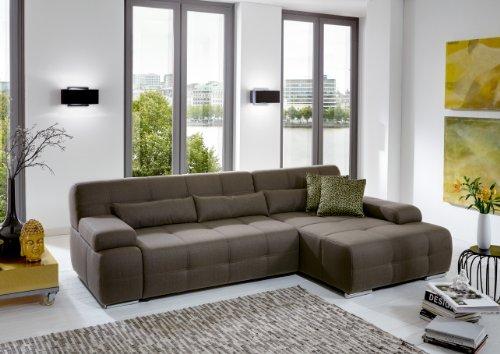 Ecksofa Couch –  günstig Cavadore Eckcouch Boogies Bild 3*