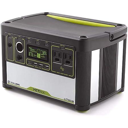 Goal Zero Yeti Lithium 400 (100V) Portable Power Station ポータブル電源 BT170 38008