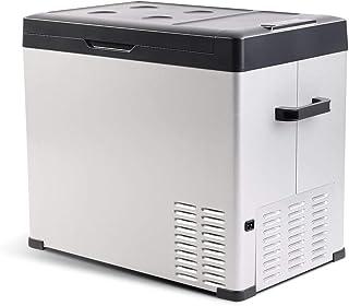 Linsion 54 Quart RV Refrigerator/Freezer Compact Vehicle Car Fridge Compressor Electric Cooler for Car,Truck,RV,Boat,Outdo...