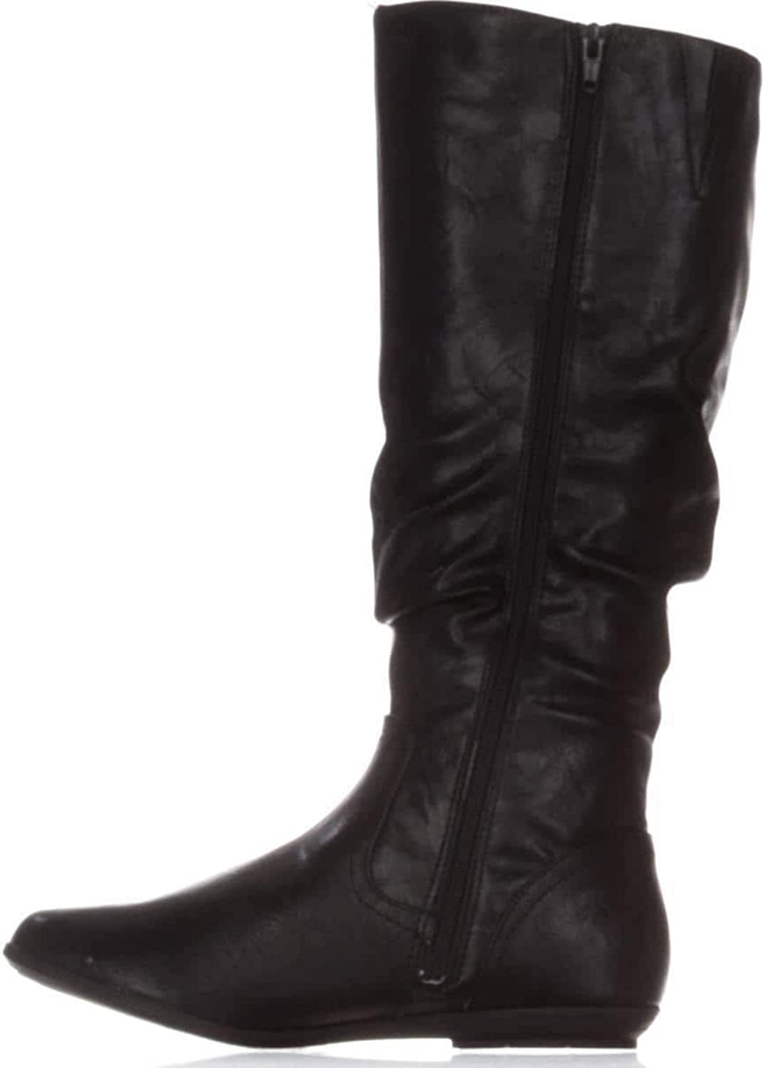 Cliffs by White Mountain Womens Felisa Closed, Black Tumbled Smooth, Size 6.0