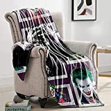 Blanket Movie Blankets Soft Plush Fleece Throw Blankets for Couch Sofa Bedding Living Room 80' X60'