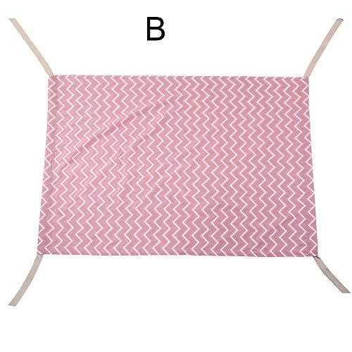Duurzame baby hangmat pasgeboren baby draagbaar bed elastische afneembare wieg veilig B