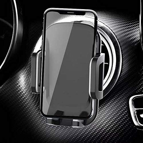 Soporte para teléfono móvil para Orificios de ventilación Redondos Soporte para automóvil Mercedes Benz protección contra Soporte para teléfono móvil para iPhone Samsung Galaxy, Huawei