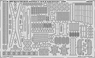 Eduard 1:350 HMS Queen Elizabeth pt.5 Deck & Main Batteries PE Detail Set #53149