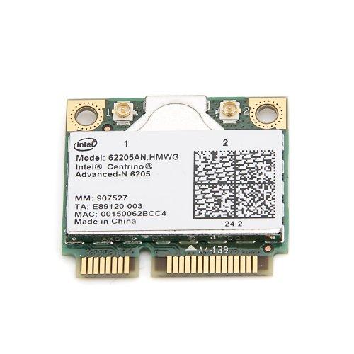 Nueva tarjeta Intel Centrino Advanced-N 6205 62205AN.HMWG WIFI Wireless N Wlan Half Mini Pci-E Doble banda 2.4/5.0 GHz 802.11a/b/g/n 300 Mbps