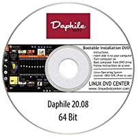 Daphile Linux 20.08 Live (64Bit) - Bootable Linux Installation DVD