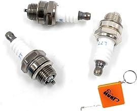 10mm daxe de piston /& bougie Bosch WSR6F /& S/ägenspezi Kit de joint S/ägenspezi Kit cylindre pour Stihl 044-50mm
