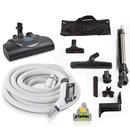Prolux Direct Connect 35 ft Universal Central Vacuum Hose Kit Powerhead (Direct Connect)