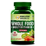Himalayan Organics Whole Food Multivitamin for Women || with Natural Vitamins, Minerals, Extracts