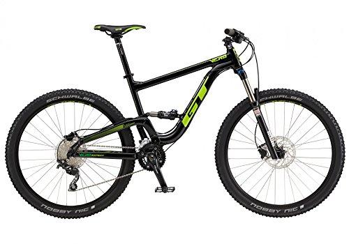 Gt Bicycles 725106M1003 Bicicleta, Unisex Adulto, Black, M