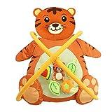 LLVV spieldecke baby Babyspielmatten Babyschlafsack Fitness Rack Panda Tiger Tierform Babyspielmatte Spielzeug für Kinder Mat Kinder Teppich,Tiger