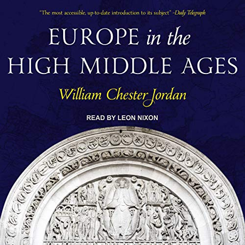 Europe in the High Middle Ages audiobook cover art