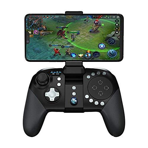 TDCQQ Manette de Jeu Mobile, poignée de Manette sans Fil à 33 Boutons for Manette de Jeu Portable Compatible avec iPhone Android, iPad, Tablette Mobile
