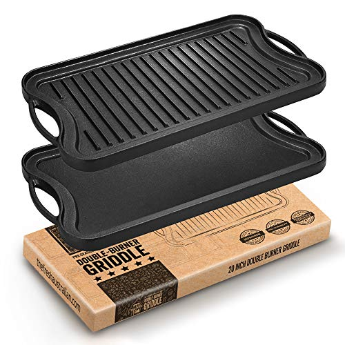 Fresh Australian Kitchen Double-Burner Griddle