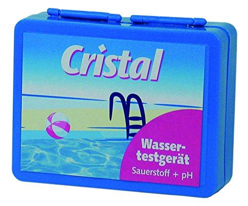 Cristal 287008 Wassertestgerät pH/Sauerstoff