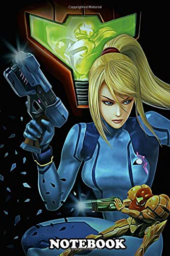"""Notebook: Double Metroid , Journal for Writing, College Ruled Size 6\"""" x 9\"""", 110 Pages"""