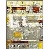 International Graphics - Impresión de arte enmarcado - JADA - ''Energy in Motion II''- 61 x 81 cm - Color del marco: Pearl Mercury - Serie ATHOS