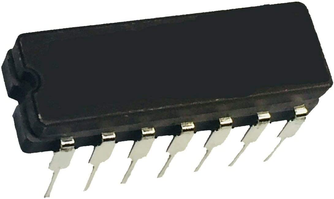 San Jose Mall Pack of 2 CD74HC00E 1 year warranty Integrated Circuits 14DI Gate Channel NAND 4