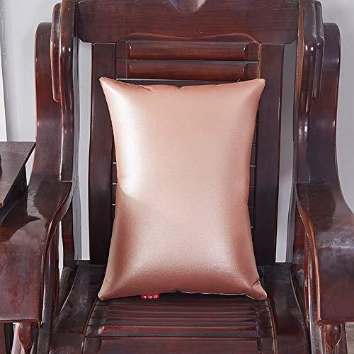 LIRONG Amerikaans PU-zacht lederen riem sofakussen, meubel-mode-schort-kussen, gebruik in de auto, om de lumbale wervelkolom te vergemakkelijken