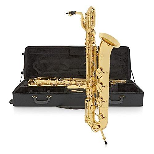 Saxofón Barítono de Gear4music - Dorado
