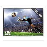 Frontstage Écran de Projection déroulant (Toile de 240 x 135 cm pour projecteur Home Cinema HDTV,...