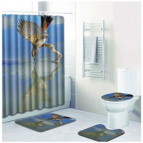 CMI Badezimmer-Antirutschmatte 3er-Set,