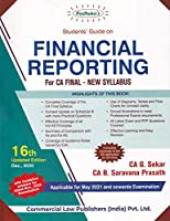 Padhuka's Students' Guide on Financial Reporting for CA Final New Syllabus - 16/e, july 2020