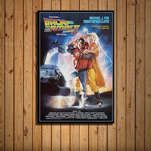 T-YIFUZX Regreso al Futuro clásico Serie de películas de Ciencia ficción Arte...