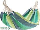 ECOMUNDY AQUA - Hamac bebe premium - Coton bio - Tissee main - GOTS