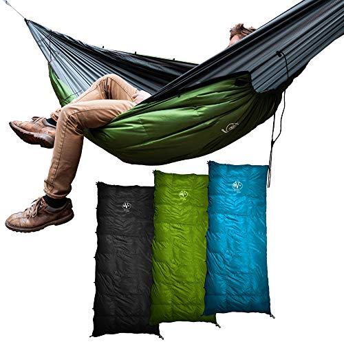 Outdoor Vitals Aerie Down Underquilt/Sleeping Bag 20 Degree Black