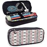 Estuche de lápices Poker Big Símbolos circulares Bolso de lápices diagonal con compartimento