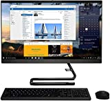 """Lenovo IdeaCentre A340 23.8"""" FHD Touchscreen All-in-One AIO Desktop Computer, Intel Quad-Core i3-9100T (Beats i5-7400t), 4GB DDR4, 256GB PCIe SSD, DVD-RW, Windows 10, TWE Mouse Pad"""