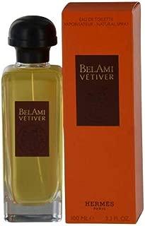HERMES Bel Ami Vetiver By Hermes For Women Eau De Toilette Spray 3.3 oz