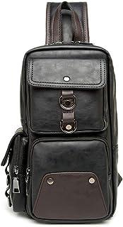 Bageek Outdoor Chest Bag Sling Bag Multi Pocket Portable Crossbody Bag for Men