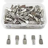 ✮GARANTIE A VIE✮-CZ Store®- Taquet etagere|100 PCS|✮✮Marque Française✮✮-support etagere|taquet 5MM|taquet armoire/armoire metallique/tablette-goupille/cheville etagere en metal nickelé