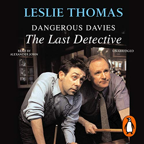Dangerous Davies audiobook cover art