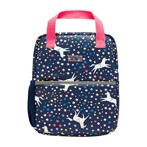 Joules Venture Padded Backpack - Navy Unicorn Rucksack -Navy Unicorn