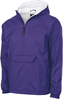 Charles River Apparel Wind & Water-Resistant Pullover Rain Jacket (Reg/Ext Sizes)
