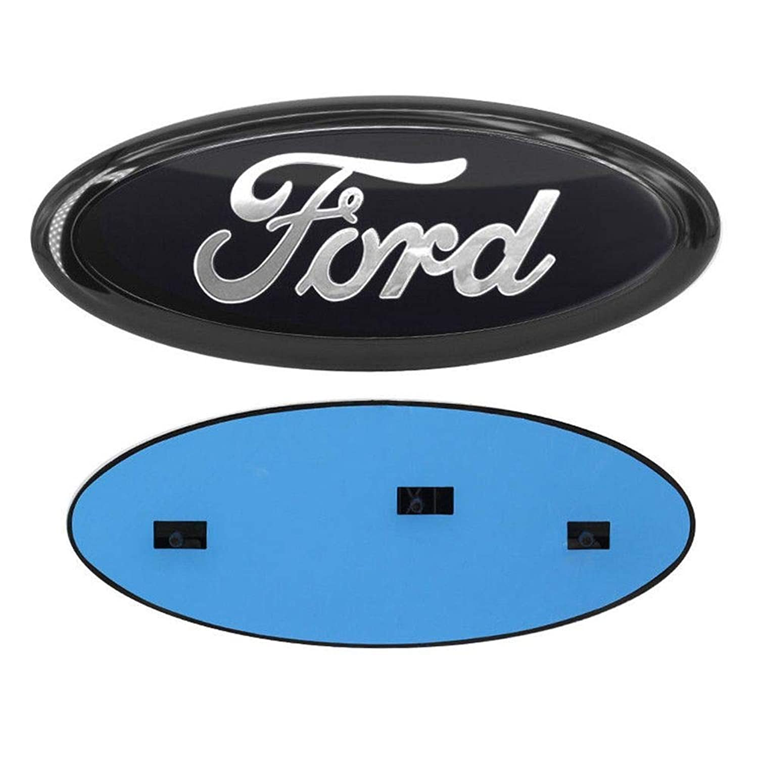 Front Grille Tailgate Emblem Compatible Fit for 2004-2014 F150 with Oval 9