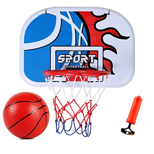 Best Price YONGMEI Kids Basketball Hoop and Backboard Set,Indoor Outdoor Sport Toys for Kids,Hanging...