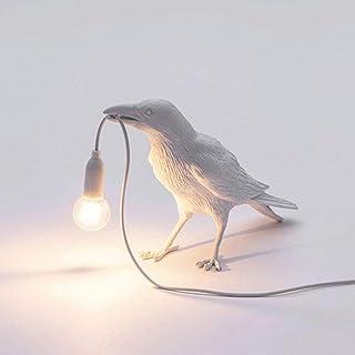 Designer Crow Bird Nordic Table Lamp LED Mordern Art Deco Bedside Decor Table Lamps for Living Room Decoration Raven Desk ...