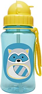 Skip Hop Zoo Straw Bottle, Riggs Raccoon